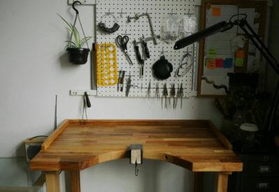 Jewellers bench - Heather Woof