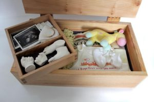 Memory box, birth of baby
