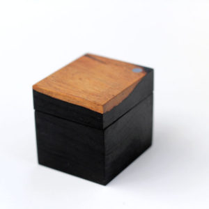 Ebony ring box