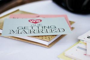 Wedding invitations - wedding memory box