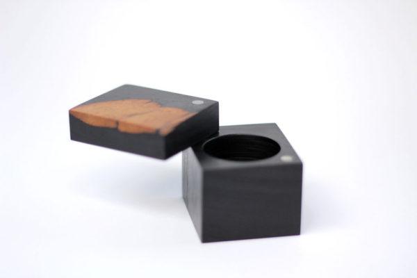 Ebony ring box