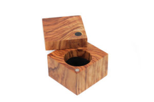 Olive and Walnut ring box