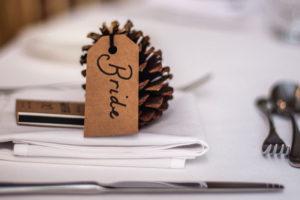 Wedding memory box - bride
